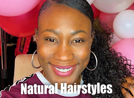 Natural Hairstyles for Moms on the Go