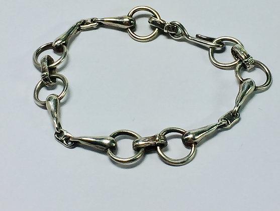 Custom Horse Bit Bracelet