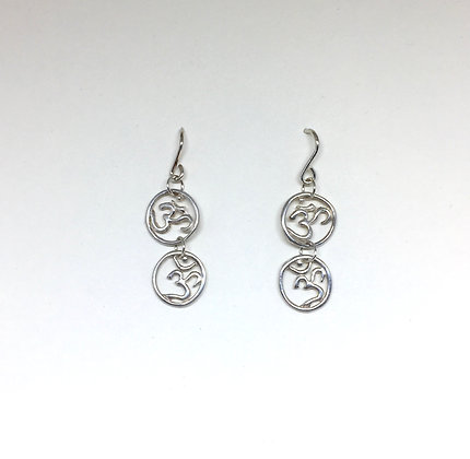 Double Om Earring