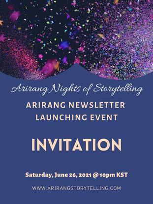 Newsletter Launch Poster