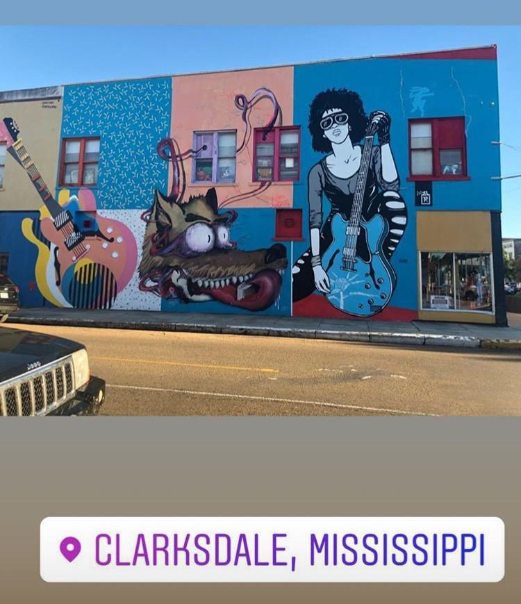 In Clarksdale, MS