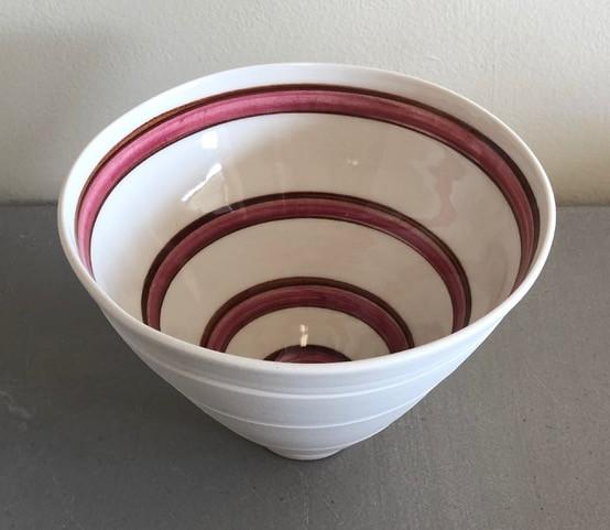 Madeleine Watkins - porcelain maroon&bro