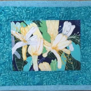 Honeysuckle Blossom - Thread Painting Wa