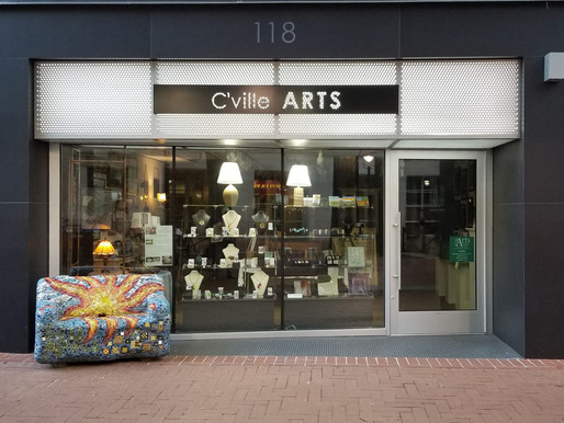 """C'ville Arts Features – """"The Studio Sale"""" - During January"""