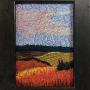Light Play- Thread Painting - 7 x 5 - CR