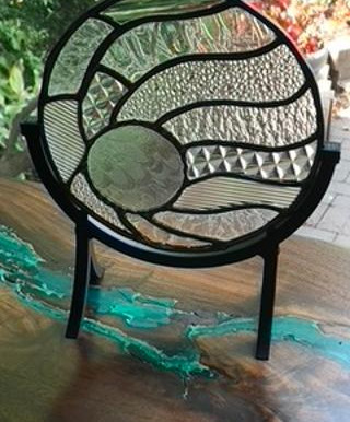 """C'ville Arts Features – """"Glass Art Gifts"""" – During December"""