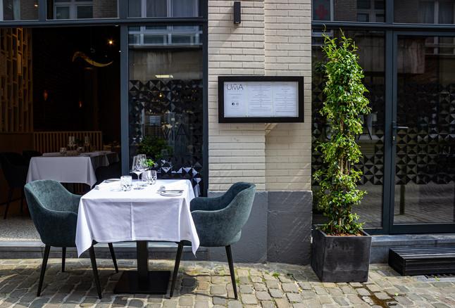 Restaurant outside