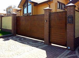 Откатные ворота, купить Иркутск