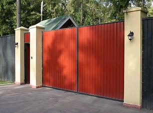 заказать распашные ворота Иркутск цена в