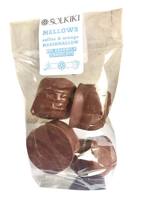 Mellows - CoffeeOrange, Marshmallow, 60% Bonbons