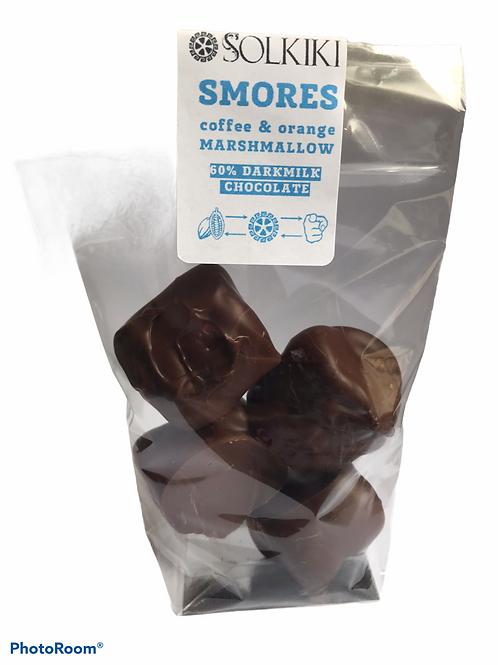 Smores CoffeeOrange, Marshmallow, 60% Bonbons