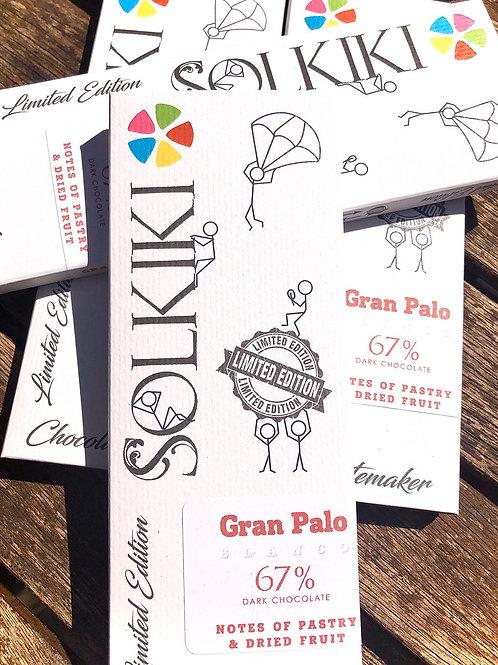 67% Peru, Gran Palo Blanco  - French-Style Dark