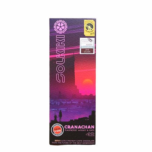 33% Cranachan - Raspberry, Oats & Whisky White Chocolate