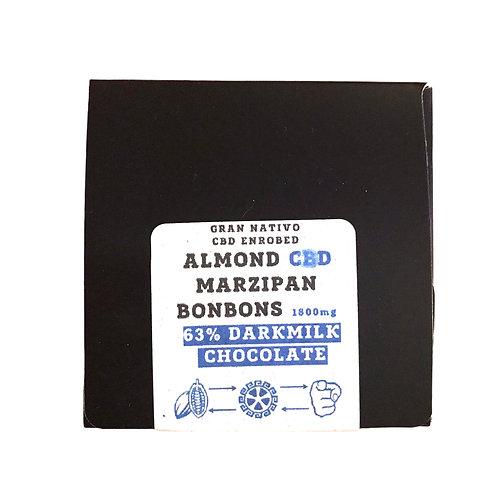 Almond Marzipan 1800mg 63% Gran Nativo Bonbons