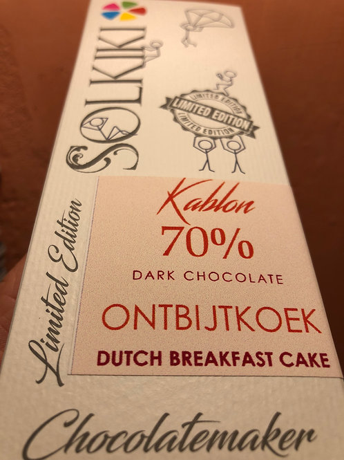 Kablon 70% - Dutch Breakfast Cake - Dark Chocolate