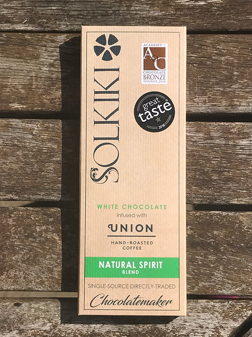 Solkiki House White with Natural Spirit Coffee - White