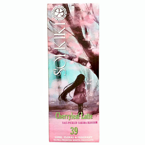 Pickled Sakura Cherry Blossom - 40% White Chocolate