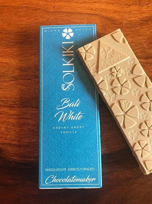 Bali White Solkiki Chocolate