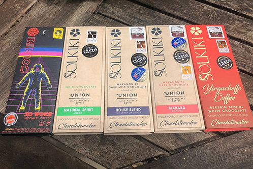 Coffee Lovers Bundle of 5 Bars