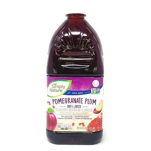 Simply Nature Pomegranate Plum 100% Juice 64oz