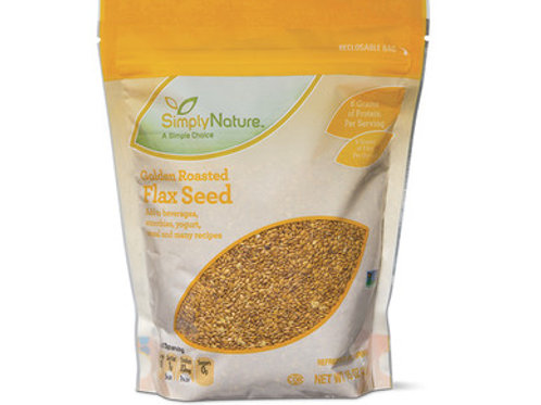 Simply Nature Non GMO Golden Flax Seed 12oz