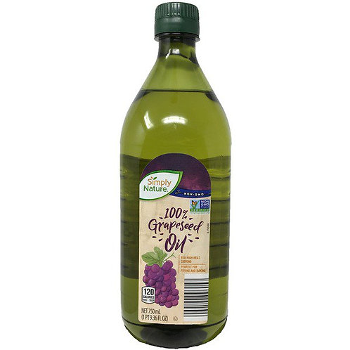 Simply Nature Grapeseed Oil 25 fl oz