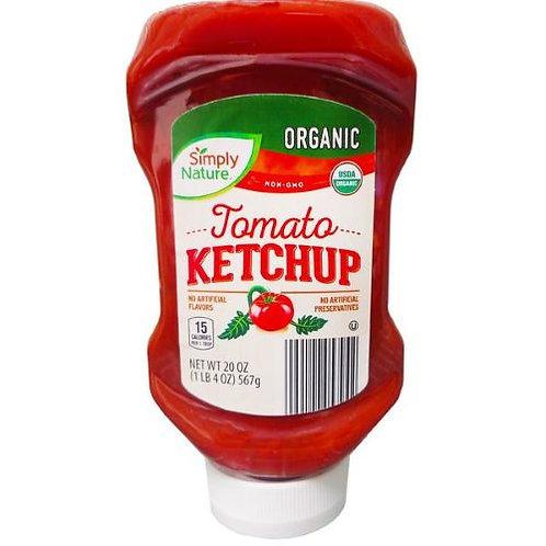 Simply Nature Organic Ketchup 20 oz