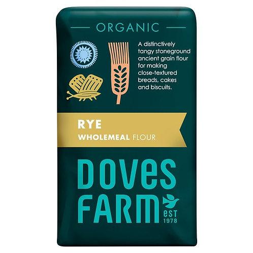 Doves Farm Organic Rye Wholemeal Flour