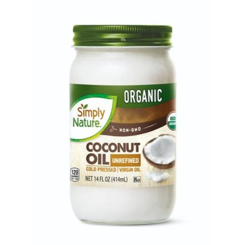 Simply Nature Organic Coconut Oil 414g