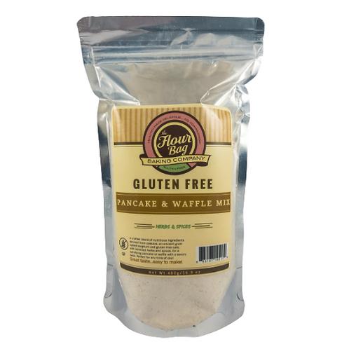 Flour Bag Baking Co. Gluten Free Pancake & Waffle Mix  Herbs & Spice 16.9oz