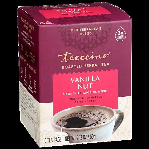 Teeccino Chicory Herbal Tea Vanilla Nut -- 10 Tea Bags