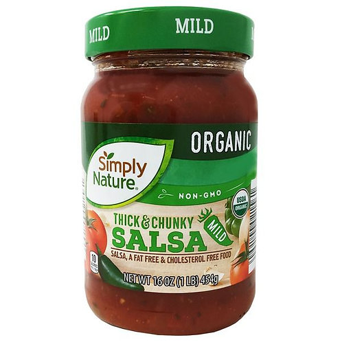 Simply Nature Organic Thick and Chunky Mild Salsa 16oz