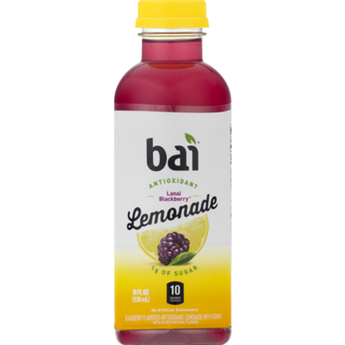Bai Antioxidants low sugar blackberry Lemonade 18oz