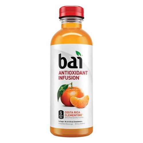 Bai Antioxidant Infusion Costa Rica Clementine 18oz