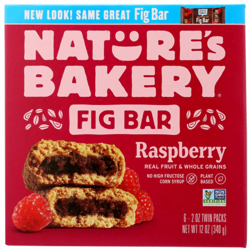 Nature's Bakery Whole Wheat Fig Bar Raspberry -- Individual pack (not box)