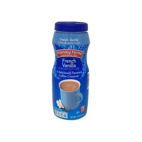 Friendly Farms French Vanilla Coffee Creamer 16 oz