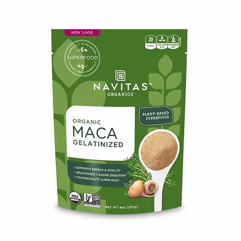 Navitas Organics Maca Gelatinized -- 4 oz