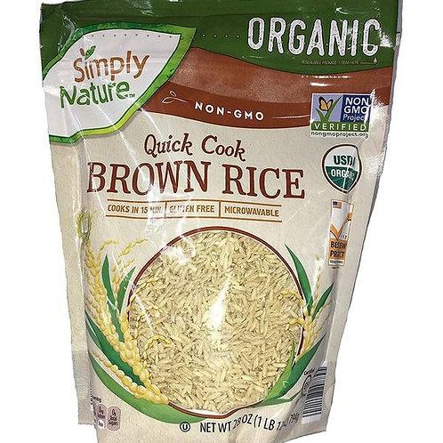 Simply Nature Organic Brown Rice 32 oz