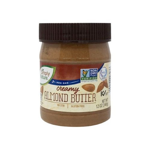 Simply Nature Creamy Almond Butter 12 oz