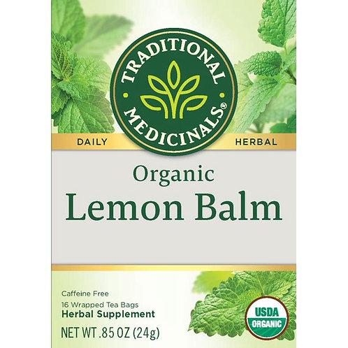 Traditional Medicinals Organic lemon blam -- 16 Tea Bags
