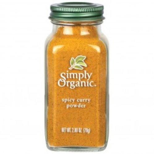 Simply Organic Curry Powder -- 3 oz