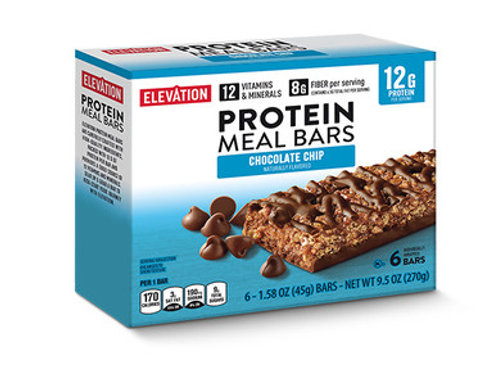 Elevation Protein Meal Bars Chocolate chip 1.58oz (sold per bar)