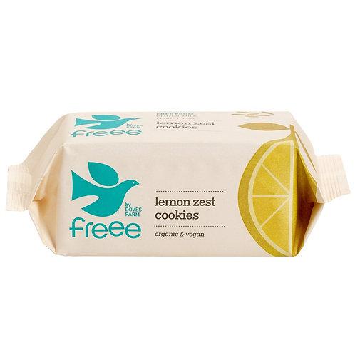 Doves Farm Gluten Free lemon zest cookies 150g