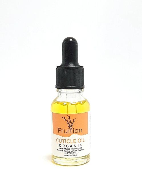 Fruition Cuticle Oil Organic 16ml