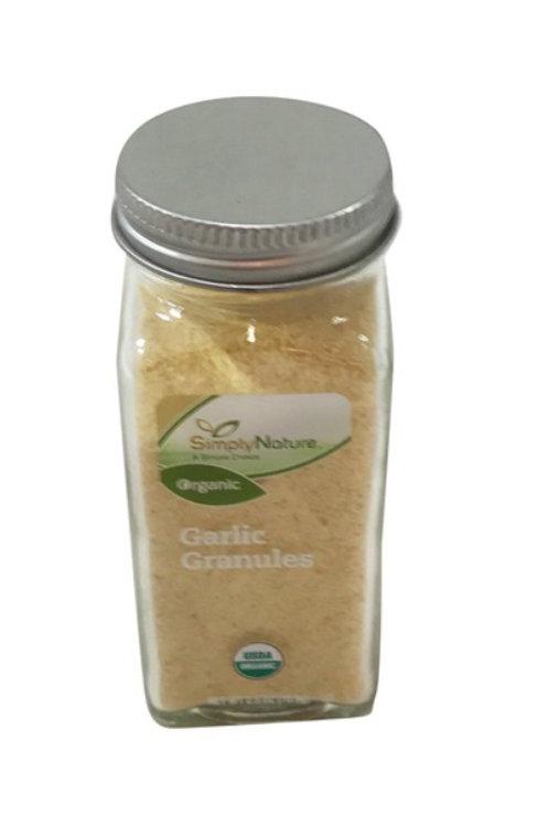 Simply Nature Organic Garlic Granules 2.5oz