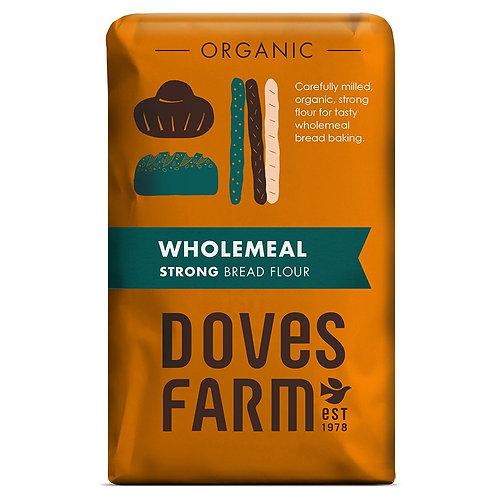 Doves Farm Strong Wholemeal Bread Flour 1.5kg