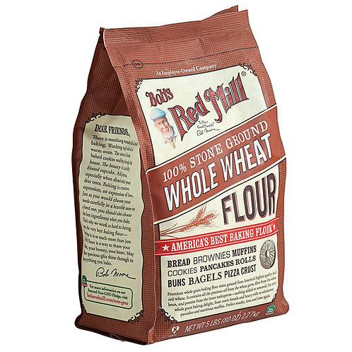 Bob's Red Mill 5 lb. Whole Wheat Flour