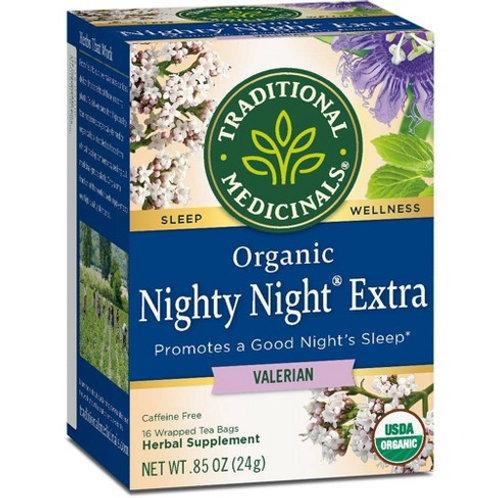 Traditional Medicinals Organic Nighty Night® Herbal Tea -- 16 Tea Bags