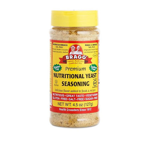 Bragg Premium Nutritional Yeast Seasoning 4.5oz