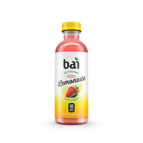 Bai Antioxidants low sugar Sao Paulo Strawberry Lemonade 16oz